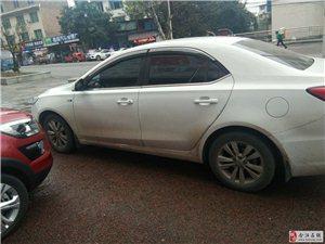 出售一台二月左右荣威三箱白色准新车轿车一台