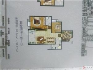 共和花园3室2厅2卫100.5210万元
