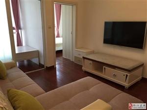上河居精装2室1厅出租,全新家具家电配置!