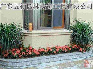 广东五行园林南沙园林绿化公司施工信誉保证