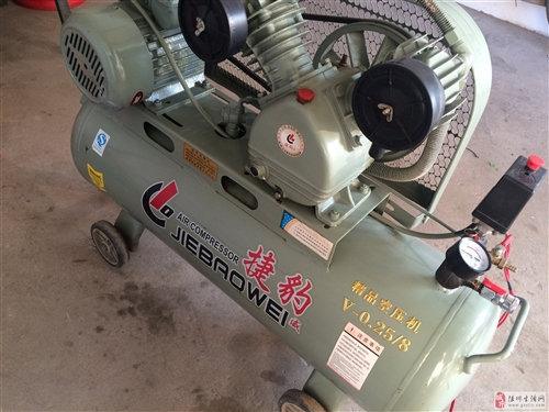 出售空压机(打气机)九成新一台