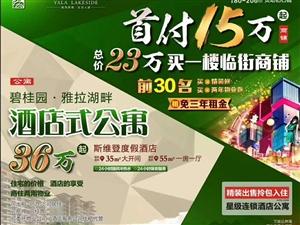 海南省儋州市碧桂园公寓一套36万元