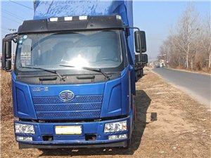 解放J6L6.8米箱货跑了3万