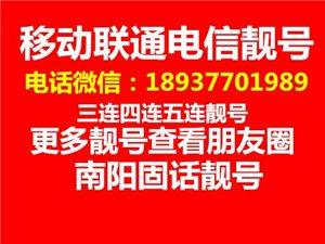 南阳固话座机号码转让037766888866