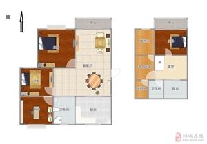山水龙城5室精装,带双大阳台,户型采光棒,急售中