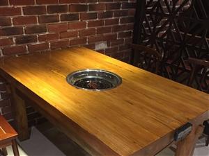 實木火鍋桌低價處理