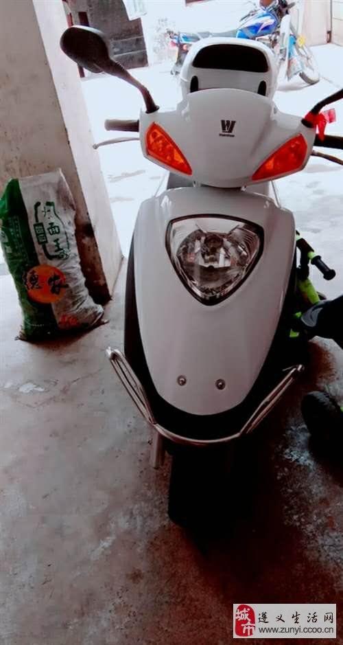 本人有一台新豪爵女士摩托车出售