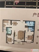 盛世佳苑3室2厅2卫57万元
