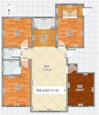国强金御园(别墅)4室2厅2卫185万元带地下