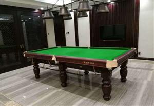 台球桌二手乔氏星牌台球桌安装拆卸装维修换布租赁服务