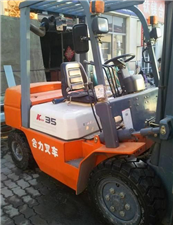 单位处理工作一百小时的九成新三吨四吨二手叉车