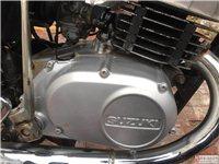豪爵铃木AX100,发动机、化油器纯进口