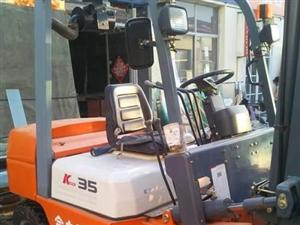 公司处理工作一百小时的九成新三吨四吨二手叉车