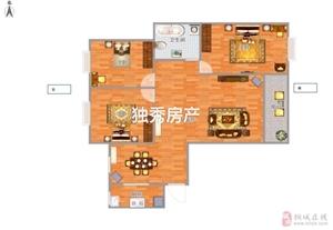金源华府3室2厅1卫76万元