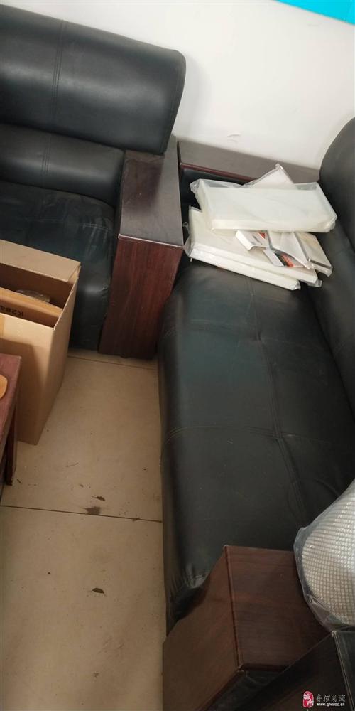 出售办公沙发茶几一套