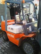 公司处理工作一百小时的三吨四吨九成新合力叉车