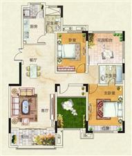 天明城8室4厅4卫135万元上下两层