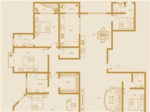 翡翠庄园大平层5室2厅3卫160万元