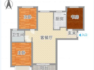 天明城二期南北通透85万可贷款无其他费用!