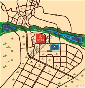 镇雄东方家园区位图