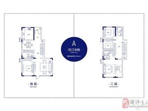 中电银河湾3室3厅3卫花园洋房210万元