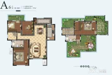 4室2厅2卫 177平米