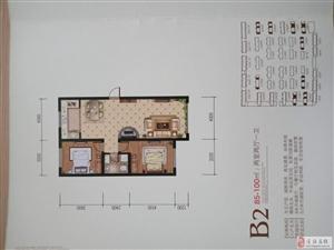 宝德丽景二期A区2室2厅1卫33万元