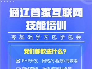 通遼首家互聯網技術培訓 php開發培訓 互聯網營銷