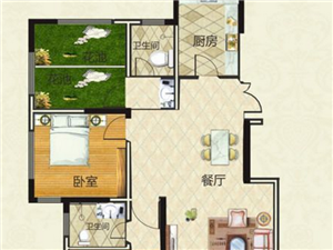 伊滨区天明城3室2厅2卫100万元