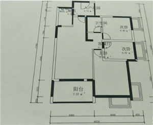 037文化馆后2室满五楼层好17.5万元