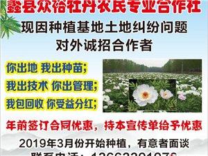 蠡县众裕牡丹农民专业合作社