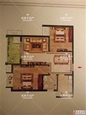 金地名都2室1厅1卫62万元