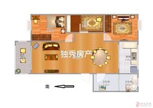 桐城人家精装三室采光佳装修保养的很好随时看
