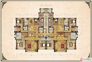 上大檀宫4室3厅4卫楼王现房