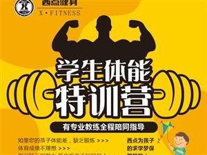 西点健身学生体能训练营开课啦