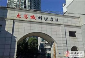 实验中,小学对面太阳城明珠广场精装房,楼层佳,