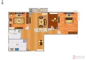 香山公馆3室2厅1卫60万元
