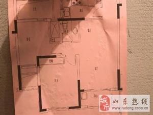 锦绣福邸5/21毛坯2室1厅1卫89平米88万元