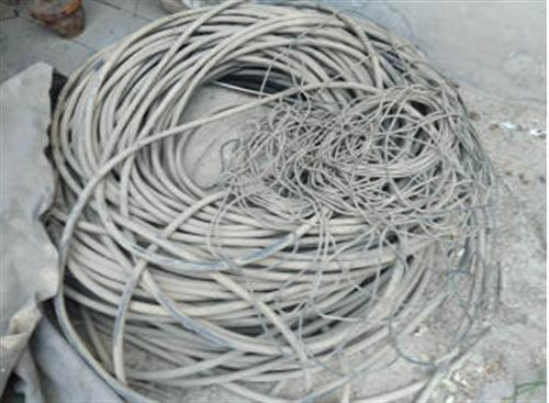出售16平方三厢四线铝芯电缆400米