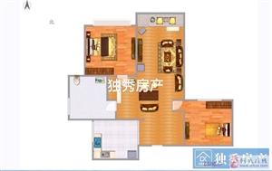 金色阳光城2室2厅1卫59万元
