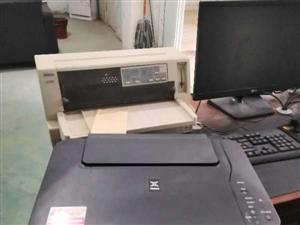长葛市出售二手电脑和打印机