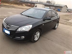 个人一手车出售!北京现代悦动!