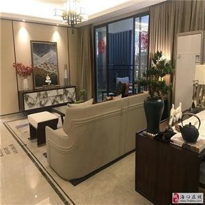 海口江东新区绿地城-江东首府120平精装3房速来