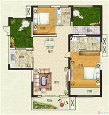 天明城3室2厅1卫80万元