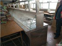 2手食堂用打菜用不锈钢桌