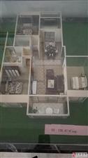 大广花园3室2厅2卫93万元