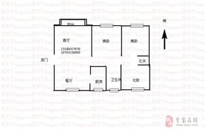 安置二区(思源雅苑)3室2厅1卫47万元