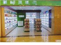 出售商品展示柜台11节柜台+4个中岛+1个收银台
