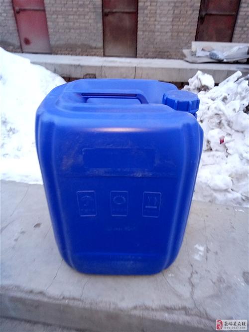 40斤蓝色塑料桶