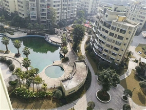 A815西城一号全新精装3室2厅双卫中庭面向游泳池